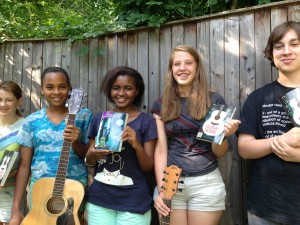 Some of my songwriting students